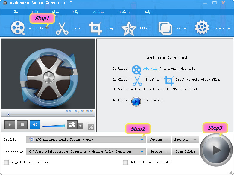 AC3 to AAC Converter – Avdshare